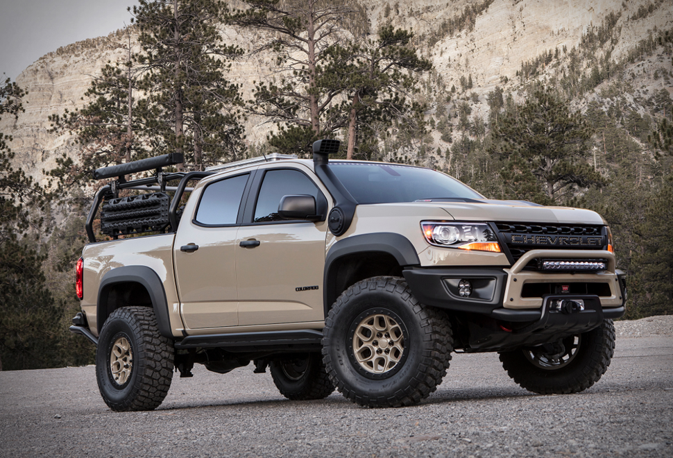 American Expedition Vehicles >> Chevy Colorado ZR2 AEV