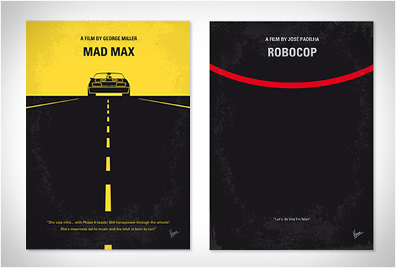 MINIMAL MOVIE POSTERS | BY CHUNGKONG | Image