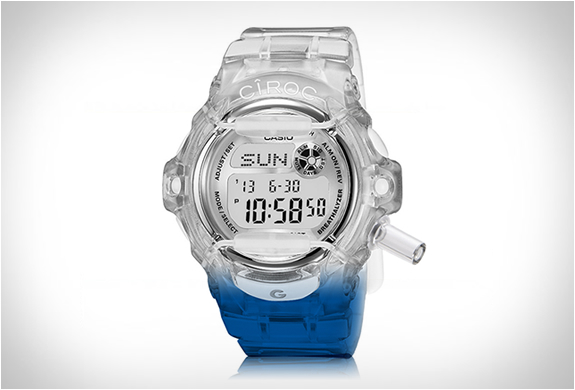 Ciroc X Casio G-shock Breathalyzer Watch | Image