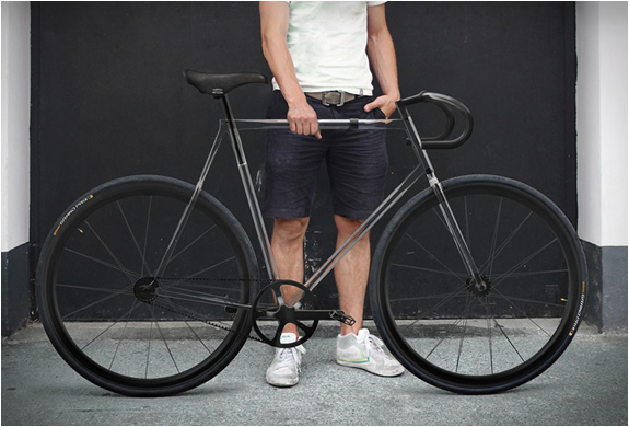 CLARITY BIKE | TRANSPARENT BIKE BY DESIGNAFFAIRS | Image