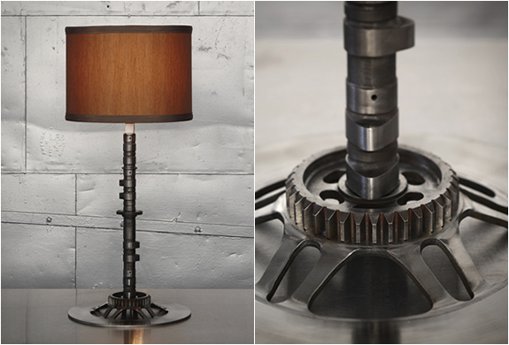 Camshaft Lamp By Classified Moto