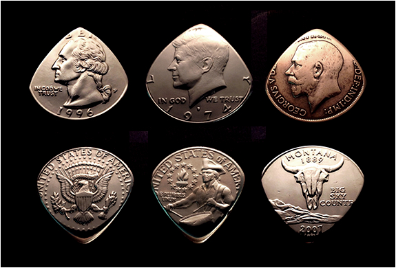 COIN GUITAR PICKS | Image