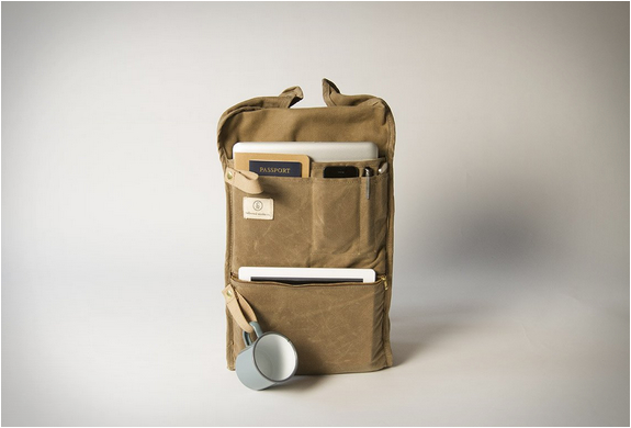 Military Duffle Backpack By Collected Works
