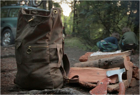 Military Duffle Backpack | By Collected Works | Image