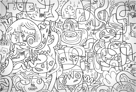 COLOR-IN WALLPAPER