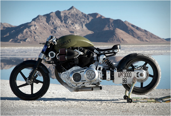 X132 HELLCAT COMBAT | BY CONFEDERATE MOTORCYCLES | Image