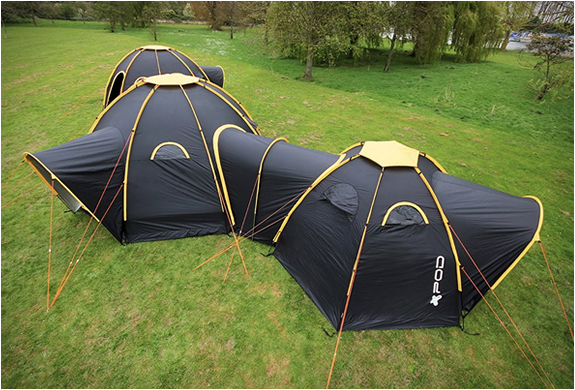 CONNECTABLE POD TENTS | Image