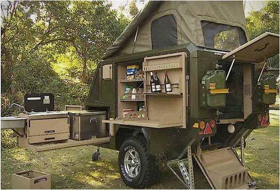 Elegant Off Road Cargo Trailer For Sale SOLD  Expedition Portal