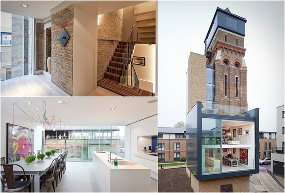 CONVERTED LONDON WATER TOWER | Image