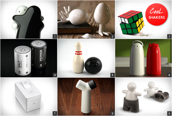 COOLEST SALT & PEPPER SHAKERS | Image