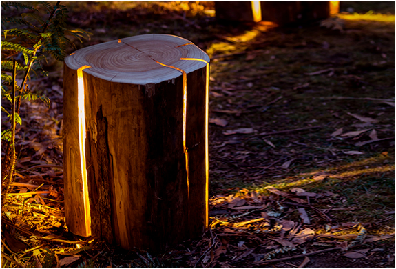 CRACKED LOG LAMPS | Image