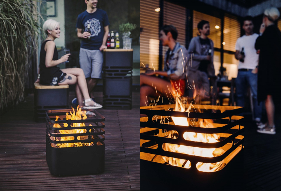 CUBE FIRE PIT | Image