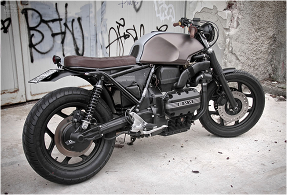 Custom Bmw K75 By Moto Sumisura