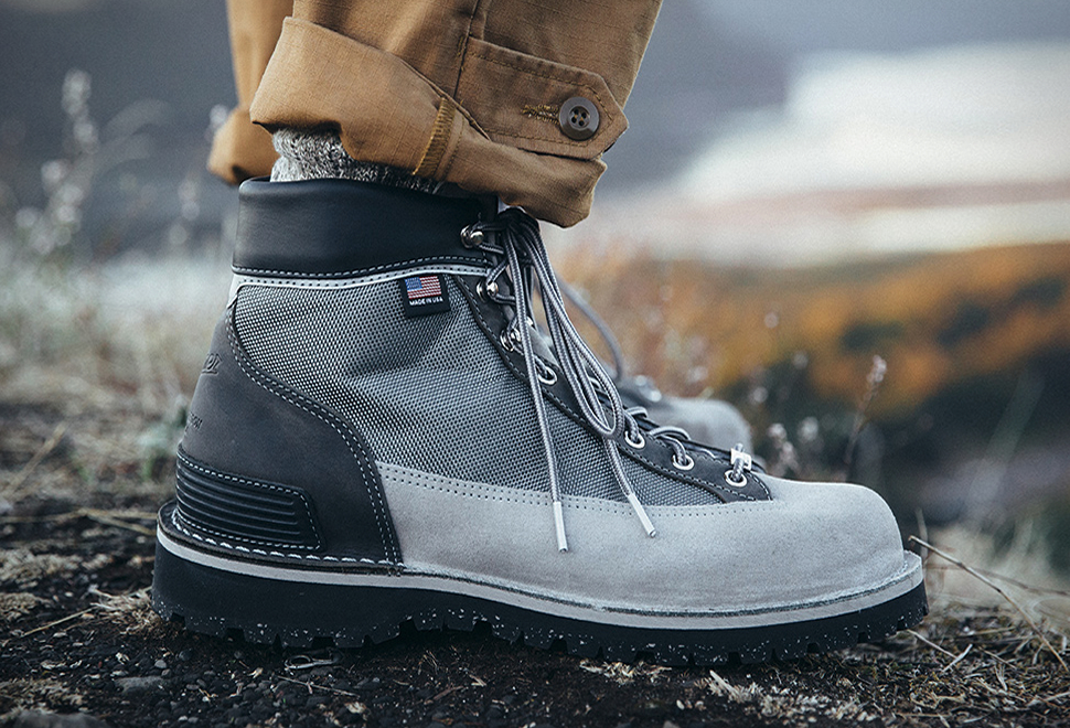 Danner x New Balance Hiking Boots