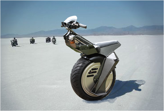 One Wheel Electric Scooter | By Ryno Motors | Image