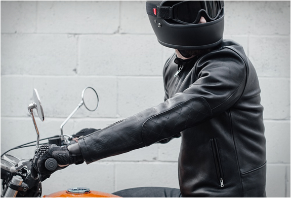 DEUS CAFE RACER LEATHER JACKET | Image