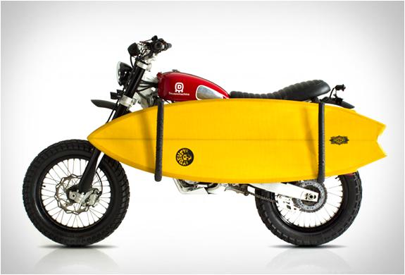 Motorcycle Surfboard Rack