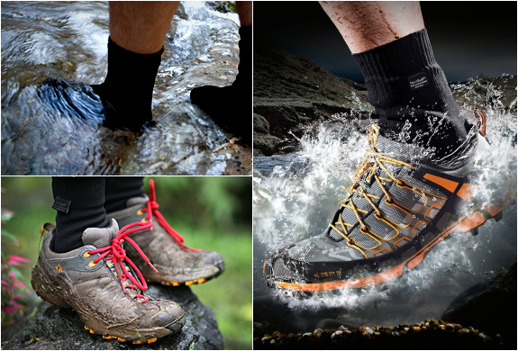 WATERPROOF SOCKS | BY DEXSHELL | Image