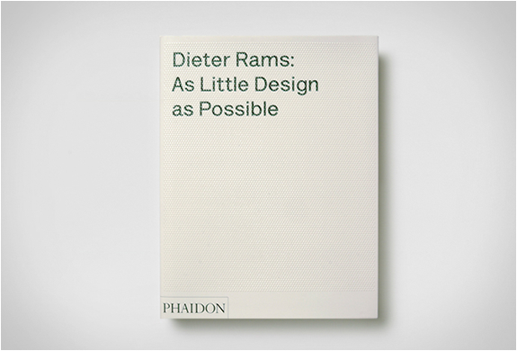 DIETER RAMS | AS LITTLE DESIGN AS POSSIBLE | Image
