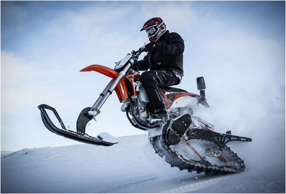 Dirt Bike Snow Kit | Image