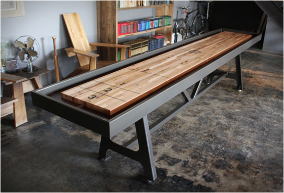 SHUFFLEBOARD TABLE | BY DISTRICT MFG | Image
