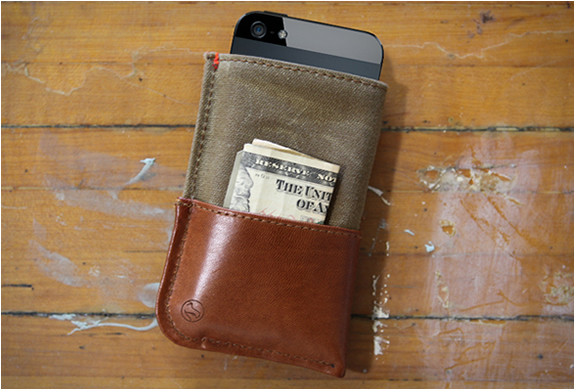 Iphone 5 Wallet | By Dodocase | Image