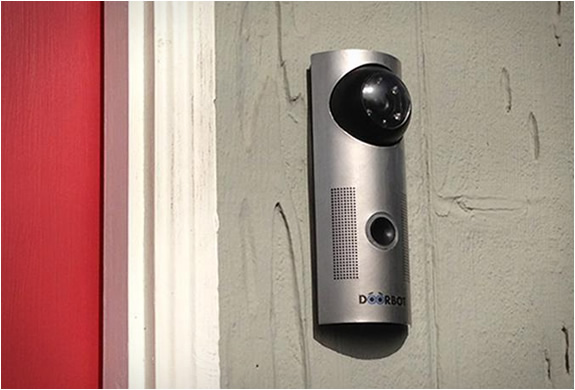 wireless front door cameraDoorbot  Doorbell Camera For Smartphones