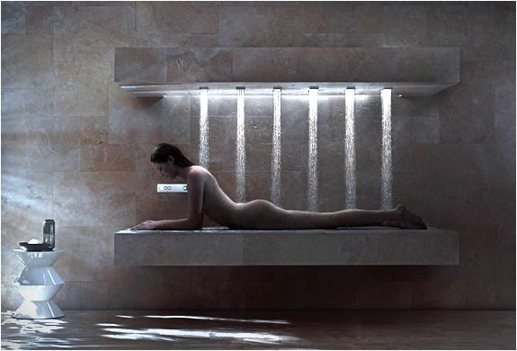 Horizontal shower by dornbracht - Dornbracht horizontal shower ...