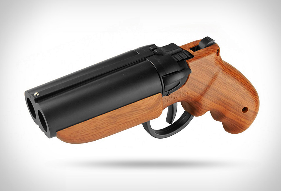 Double-Barrel Paintball Pistol | Image