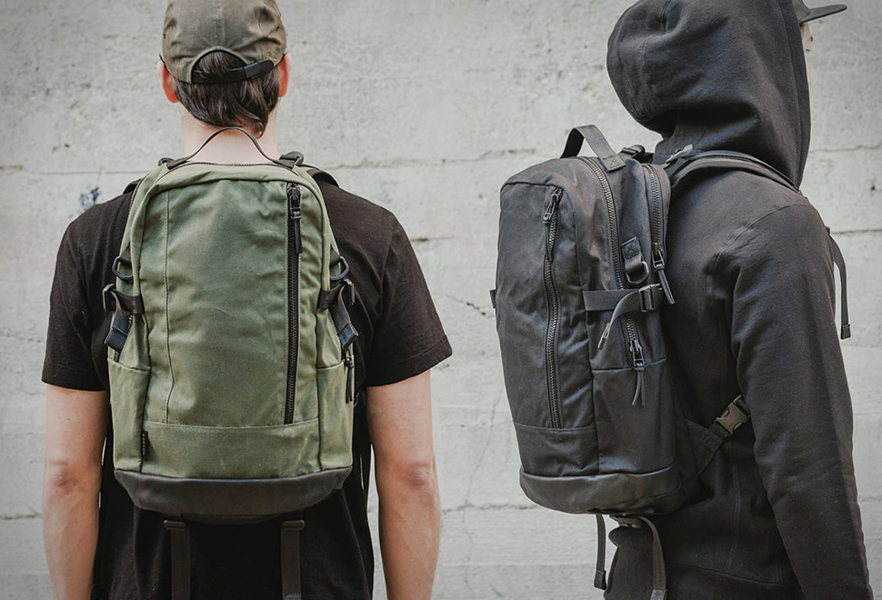 Dsptch Waxed Canvas Daypack | Image