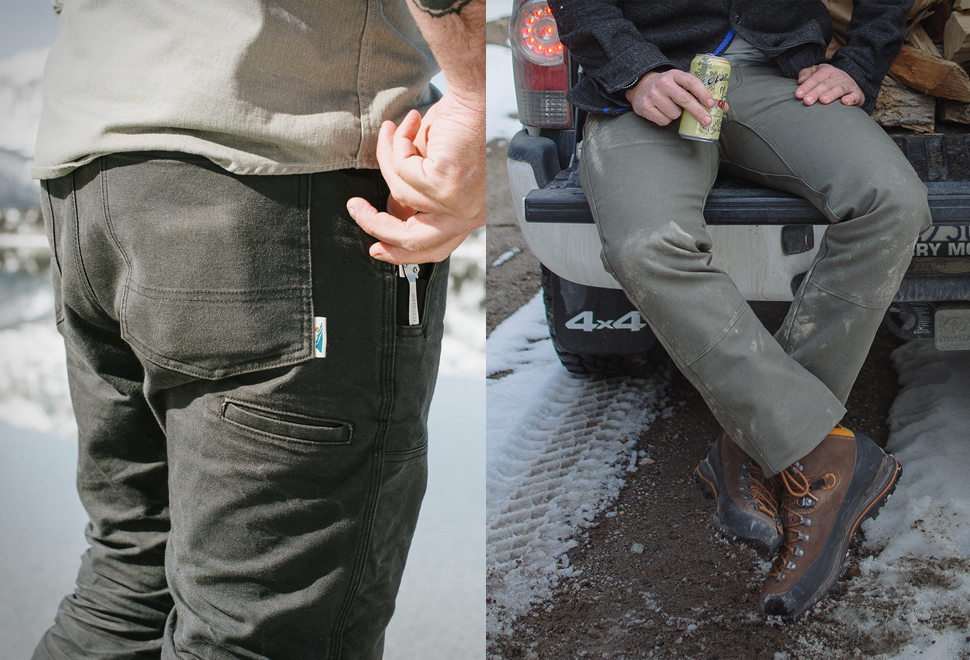 EDGEVALE CAST IRON UTILITY PANTS | Image
