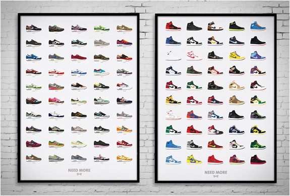 SNEAKER POSTERS | BY EGOTRIPS | Image