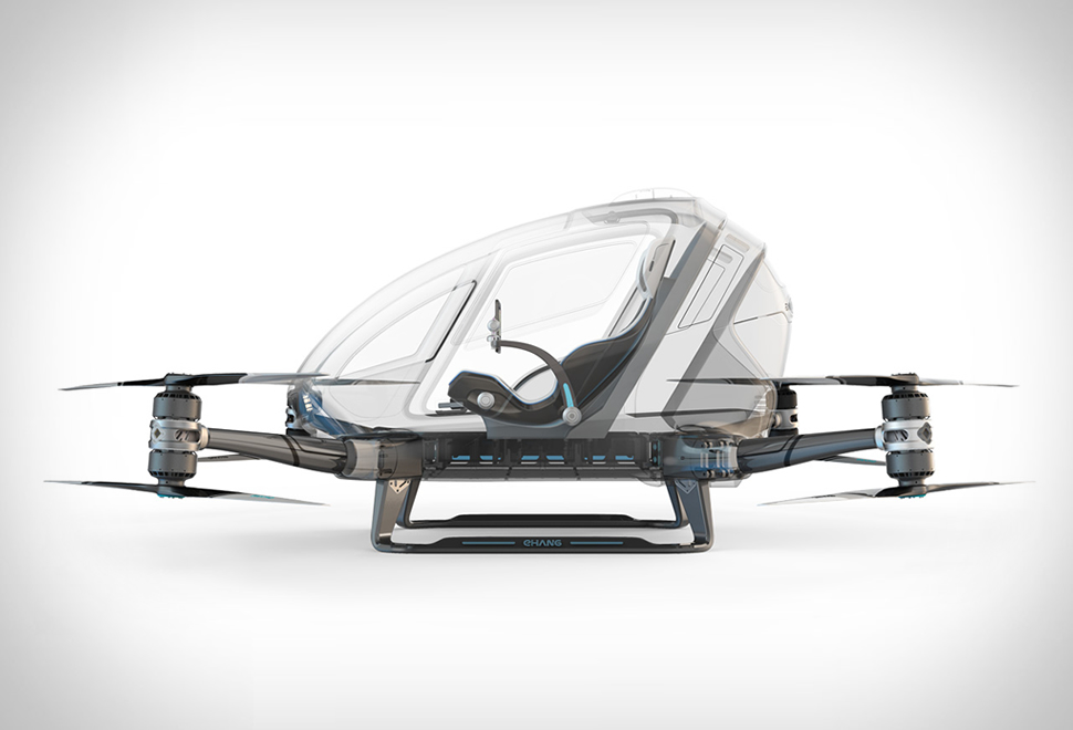 Ehang184 One-seater Drone | Image