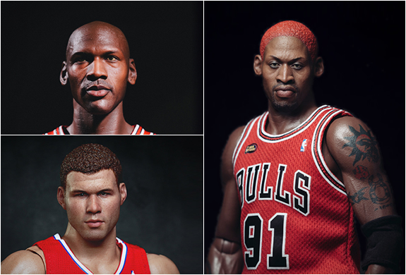 Hyper Realistic Nba Collection | By Enterbay | Image