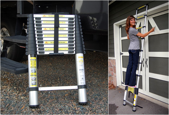 EXTEND A STEP | TELESCOPING LADDER | Image