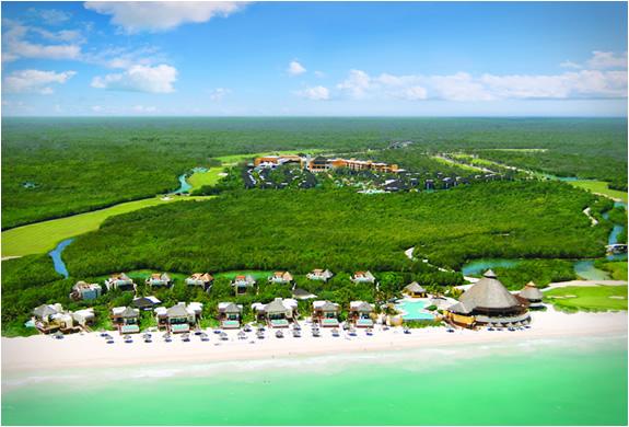 Visita Resort Fairmont Mayakoba en Riviera Maya Mexico