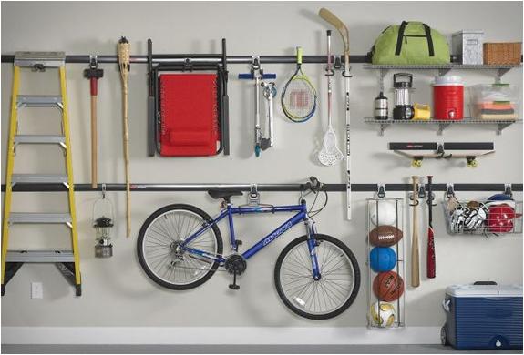 Fasttrack garage organization system 2
