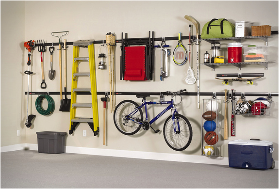 Fasttrack Garage Organization System