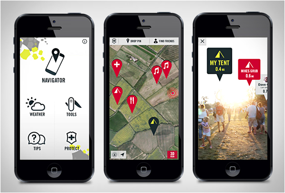 FESTIVAL READY APP | BY VICTORINOX | Image