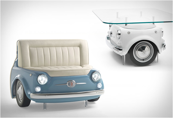 Fiat 500 Furniture | Image