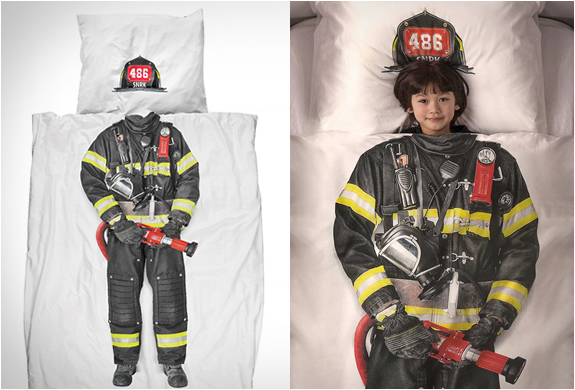 FIREFIGHTER DUVET COVER | Image