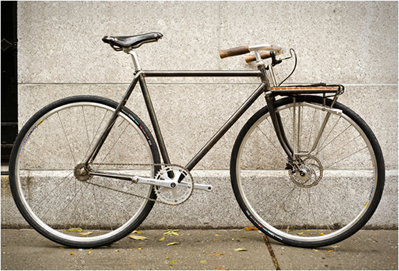 Fixie Porteur | By Fast Boy Cycles | Image
