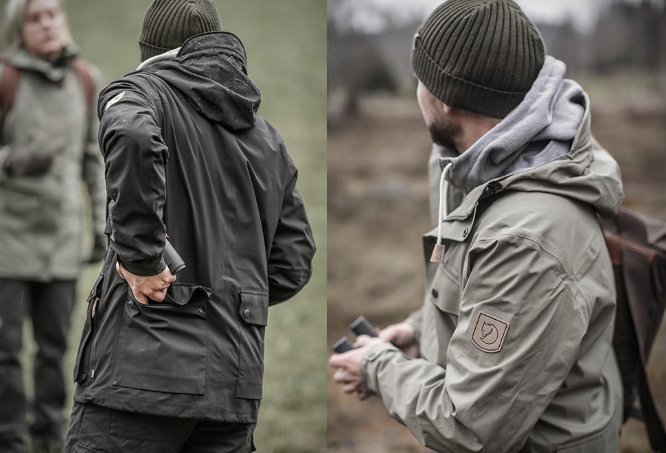 FJALLRAVEN OVIK ECO SHELL JACKET | Image