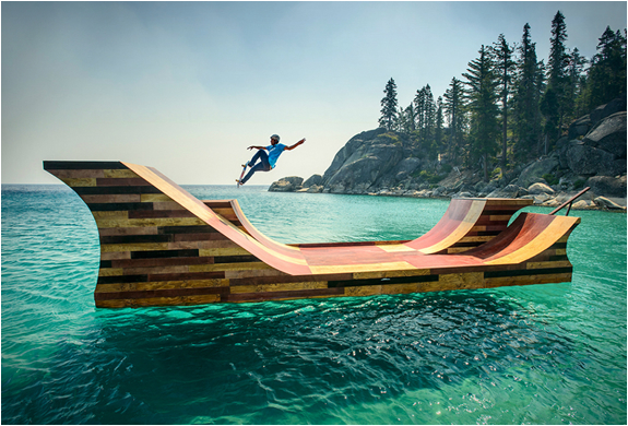 FLOATING SKATE RAMP | Image