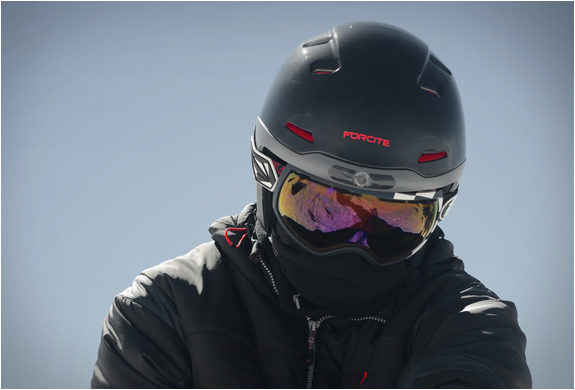 Forcite Alpine Smart Helmet | Image