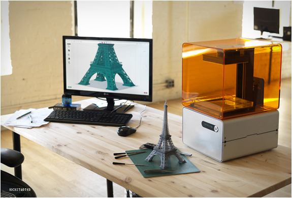 FORM 1 | AFFORDABLE & PROFESSIONAL 3D PRINTER | Image