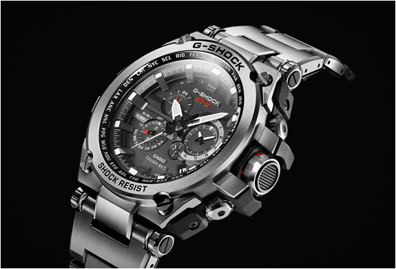 G-SHOCK MT-G METAL TWISTED | Image