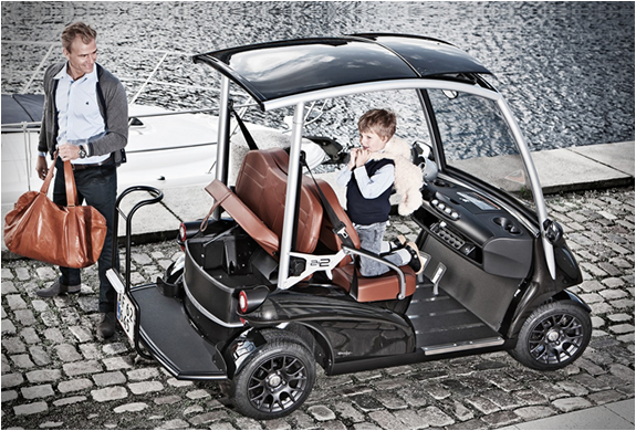 Garia | Luxury Golf Carts | Image