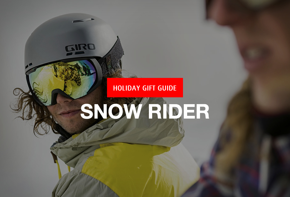 GIFT GUIDE 2015 | SNOW RIDER | Image