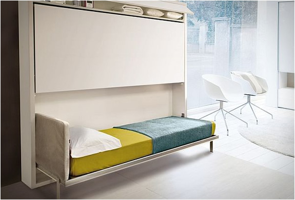 Pull Down Bunk Bed By Giulio Manzoni